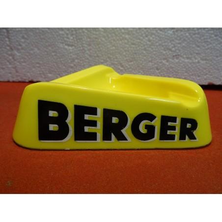 CENDRIER BERGER  14CM X14CM X14CM