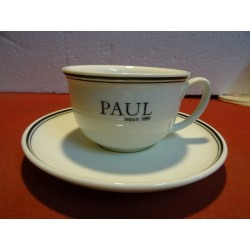 1 TASSE THE + SOUCOUPE...