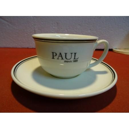 1 TASSE THE + SOUCOUPE   PAUL  22CL