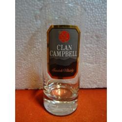 6 VERRES CLAN CAMPBELL 22CL...