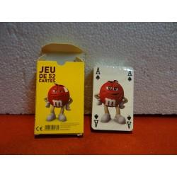 1 JEU DE 52 CARTES M&M'S