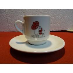 6 TASSES A CAFE FOLLIET
