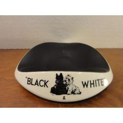 1 CENDRIER  BLACK&WHITE