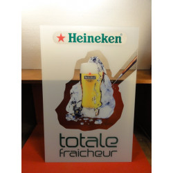 1 PLAQUE HEINEKEN EN PLEXI GLASS