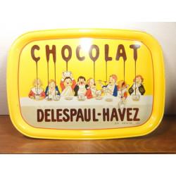 1 PLATEAU CHOCOLAT DELESPAUL-HAVEZ
