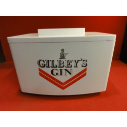 1 SEAU A GLACE GIN GILBEY'S
