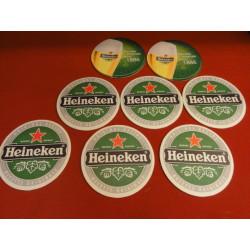 8 SOUS BOCKS HEINEKEN