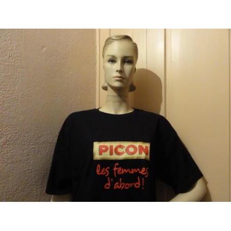 1 TEE-SHIRT PICON  TAILLE L