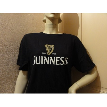 TEE SHIRT  GUINNESS  TAILLE  L