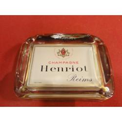 1 CENDRIER CHAMPAGNE  HENRIOT