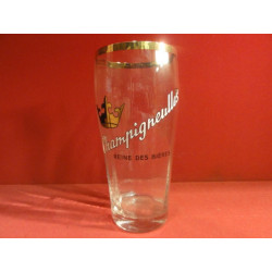 1 VERRE EMAILLE  CHAMPIGNEULLES  80CL
