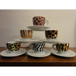 6 TASSES A CAFE  SAFARI