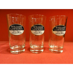 3 VERRES WHISKY WILLIAM LAWSON'S