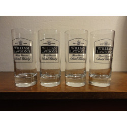 4 VERRES WILLIAM LAWSON'S