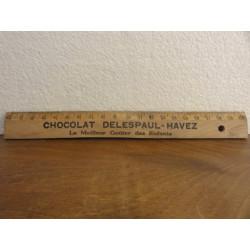 1 DOUBLE DECIMETRE CHOCOLAT DELESPAUL