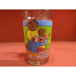 1 VERRE A MOUTARDE PETIT OURS BRUN