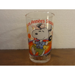 1 VERRE A MOUTARDE  SNOOPY