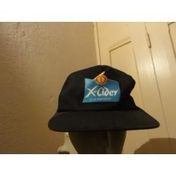 1 CASQUETTE  X-CIDER
