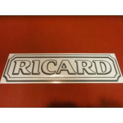 1 AUTOCOLLANT RICARD
