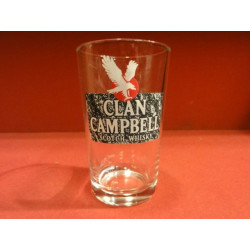 1 VERRE WHISKY  CLAN CAMPBELL