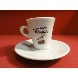 6 TASSES A CAFE FRAICA  MODELE EVASE