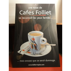 1 CARTON  CAFE   FOLLIET  60 X 40