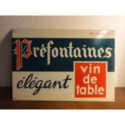 1 TOLE  VIN PREFONTAINE  33 X 23