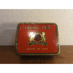 1 BOITE LYONS' TEA