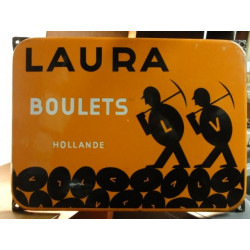 1 PLAQUE EMAILLEE  BOULETS  LAURA