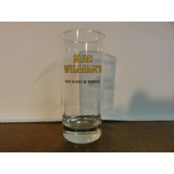 6 VERRES  MAC WILLIAM'S WHISKY