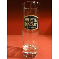 6 VERRES WHISKY  WHYTE AND MACKAY