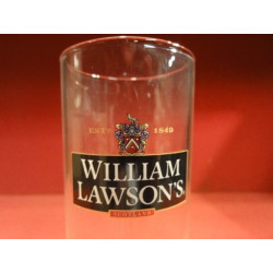 6 VERRES WHISKY  WILLIAM  LAWSON'S 22CL