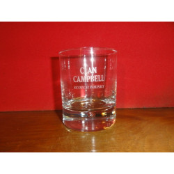 6 VERRES CLAN CAMPBELL16/20CL