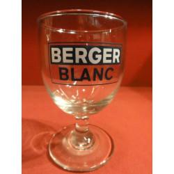 6 VERRES PASTIS BERGER BLANC 15CL