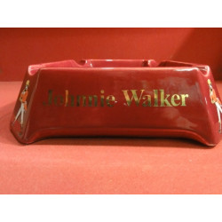 1 CENDRIER JOHNNIE WALKER ROUGE
