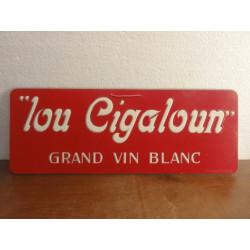 """1 CARTON  VIN BLANC """"LOUCIGALOUN"""""""
