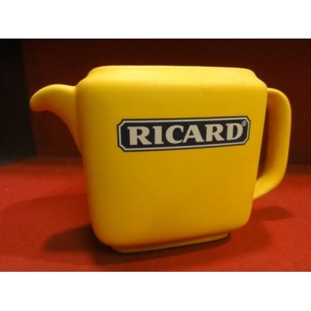 1 PICHET RICARD 1/2 LITRE  JAUNE