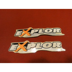 2 STIKERS  EXPLOR VTT  CROSS