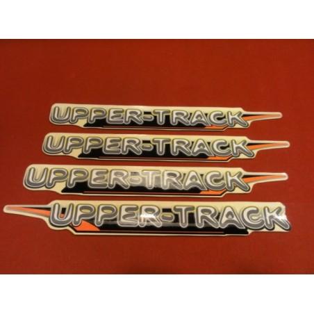 4 STIKERS UPER-TRACK  VVT CROSS
