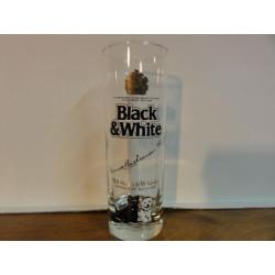 6 VERRES BLACK&WHITE