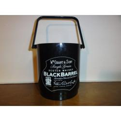 1 SEAU A GLACE  BLACK BARREL