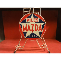 1 PRESENTOIR  PILES MAZDA