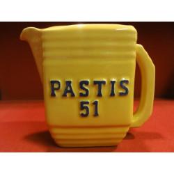 1 PICHET  PASTIS 51 /PERNOD 45