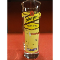6 VERRES SCHWEPPES INDIAN TONIC