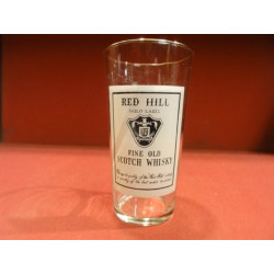 1 VERRE WHISKY  RED HILL