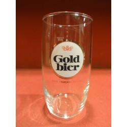 """verre a biere ancien/""""gold bier/"""""""