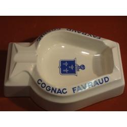 1 CENDRIER  COGNAC FAVRAUD