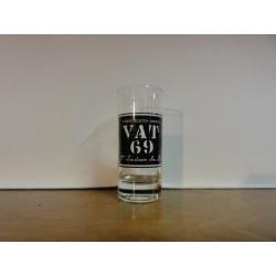 6 VERRES WHISKY VAT 69