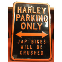 1 PLAQUE  HARLEY