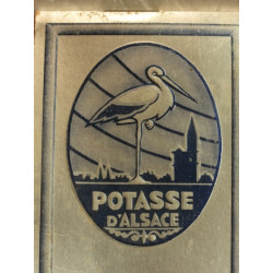 1 CARNET POTASSE D'ALSACE
